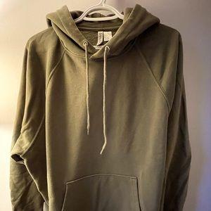 H&M oversized hoodie.